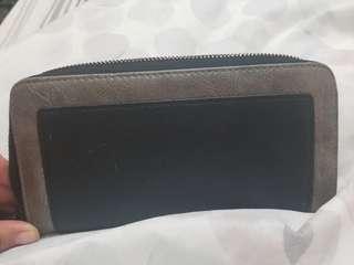 Black/grey wallet