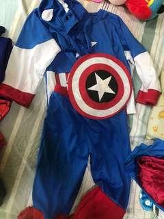 Captain America Costume - 5-6 years old
