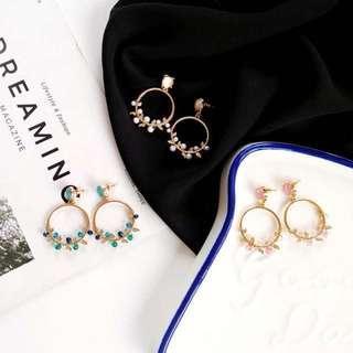 韓🇰🇷時尚 簡約手工耳環