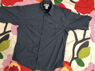 Columbia Titanium SportWear 防曬透氣快乾灰色短袖恤衫