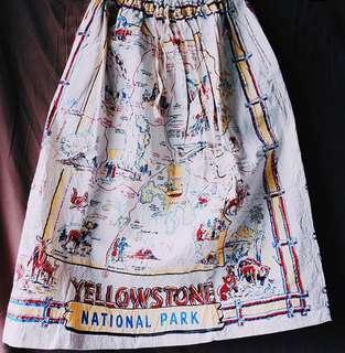 🌸日本設計 印度人手染製 半截裙🌼