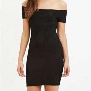 Factorie bodycon off shoulder