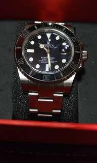Rolex Submariner - 116610 - Ceramic and Stainless - Black Dial/Bezel - 40mm