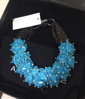NEW - Aidan and Ice Barbra Necklace in Blue