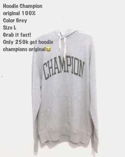 Hoodie Champion Original 100% dari pabriknya
