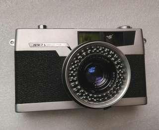 日本Petri 7s菲林相機