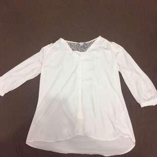 Kemeja putih H&M #onlinesale