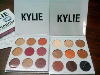 Kylie cosmetics palettes burgundy and bronze