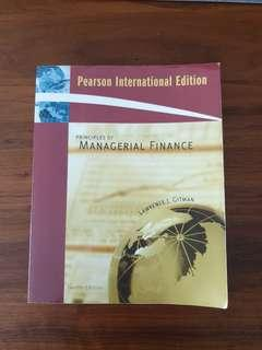 🚚 Principles of Managerial Finance