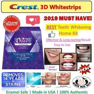 Teeth Whitening Crest 3D Whitestrips