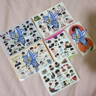 [CLEARANCE] wannaone stickers