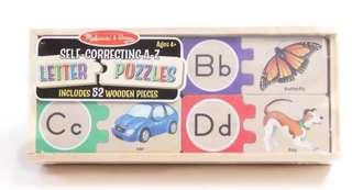 Educational puzzle toy