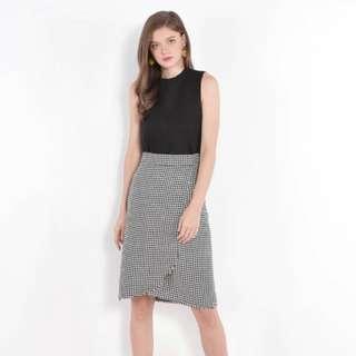 🚚 Zadie Houndstooth Skirt HVV