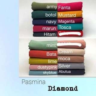 Pasmina diamond 24k