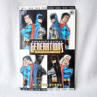Superman & Batman: Generations (DC Comics, 1999) - NM