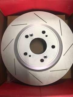 H/D Civic FD2-R Front Disc Rotor Slotted