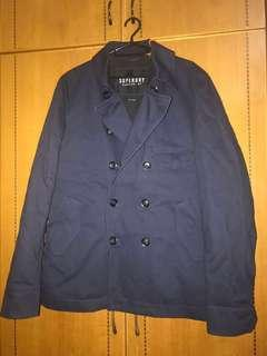 New Mens Superdry Trench Coat