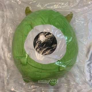 Disney Tsum Tsum Mike Wazowski Round Cushion 42cm Japan Authentic [Toreba]
