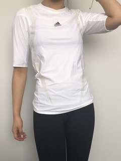 Adidas white climacool top