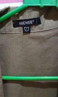Long outer vest by hardware (luna maya)