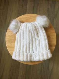 H&M KNITTED BONNET