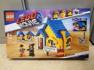 Lego 70831 movie 2 Emmet's Dream House Rescue Rocket - brand new MISB
