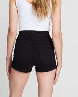 COTTON ON High Waisted Denim Shorts