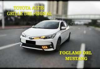 TOYOTA ALTIS NEW GRILLE DRL