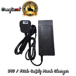 🚚 DYU / Fiido Safety Mark Charger