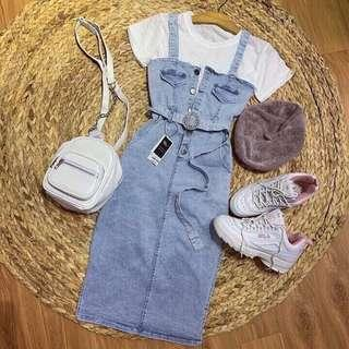 Jeans Midi Set