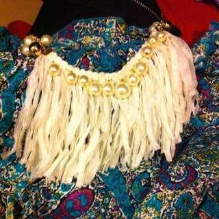 🚚 全新流蘇珍珠項鍊