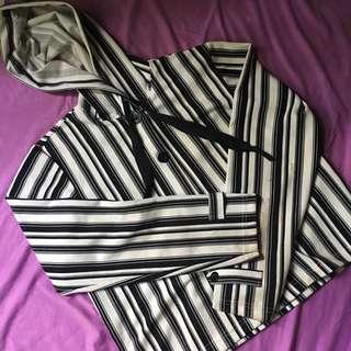 Atasan Hardware Jaket Stripe
