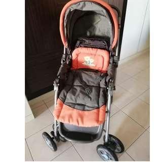 Stroller (Sweet Cheery), FREE Tollojoy baby bag