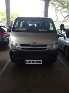 PTE HIRE MINI BUS TOYOTA HIACE 3.0M FOR RENTAL AT YOUR SERVICE