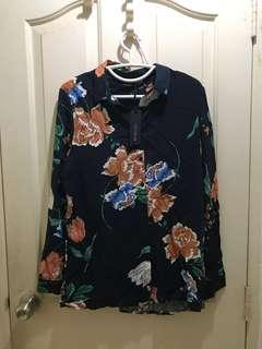 BN Cotton on floral top
