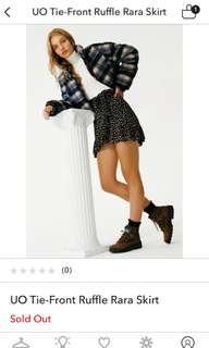 Urban outfitter wrap skirt