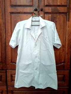 Clinical coat white