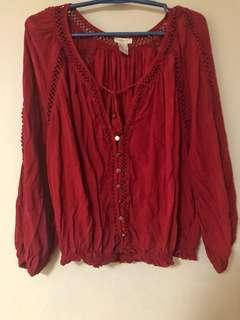F21 RED top