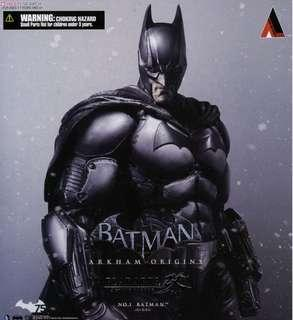 Batman Play Arts Arkham Origins