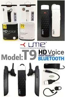 UME T9 Bluetooth Headset