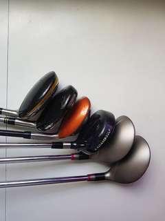 Taylormade Cobra Golf clubs