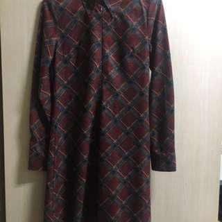 🚚 降價喲✨日式格子洋裝