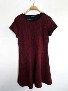 Dorothy Perkins Maroon Dress