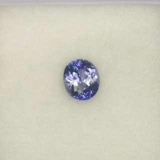 TANZANITE UNHEATED OVAL 3.78CT FLOWER CUT, NATURAL STONE, UNTREATED, BLUE GEMSTONES, ENGAGEMENT RING, BESPOKE JEWELLERY