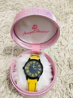 🚚 Angel Heart Watch - Model: BK37BYE-YE