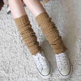 Women winter crochet knitted leg warmers.Slouch leggings boots socks cuffs