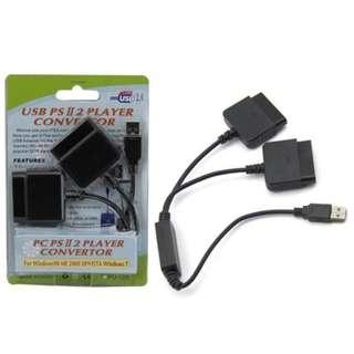 Playstation 2 PS2 USB 2 Controller Converter to PC