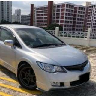Long term leasing for honda civic 2008 (cheap) personal usage