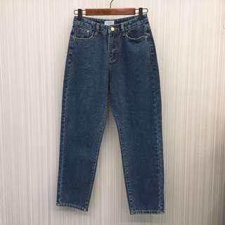 🚚 [全新出清]內刷絨AB牛仔褲