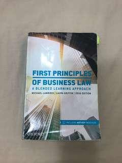Principles of Business Law / 2016 Edition